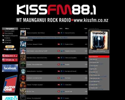 KissFM Mount Maunganui Rock Radio