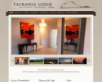 Tauranga Lodge Luxury Bed & Breakfast