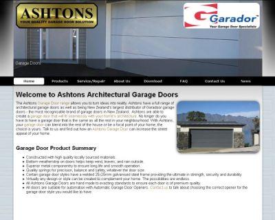 Ashton Garage Doors
