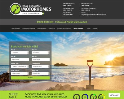 New Zealand Motorhomes