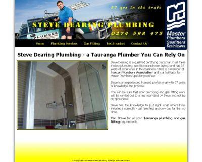 Steve Dearing Plumbing Tauranga